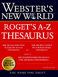 Websters New World Rogets A Z Thesaurus