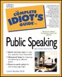 Complete Idiot's Guide To Public Speaking (2ND 99 Edition) Cover