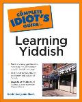 Complete Idiot's Guide to Learning Yiddish (Complete Idiot's Guides) Cover