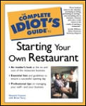 Complete Idiot's Guide to Starting a Restaurant (Complete Idiot's Guides) Cover