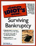 Complete Idiot's Guide to Surviving Bankruptcy (Complete Idiot's Guides) Cover