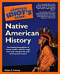 Complete Idiot's Guide to Native American History (Complete Idiot's Guides) Cover