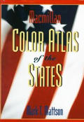 Macmillan Color Atlas of the States (96 Edition)