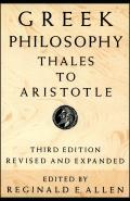 Greek Philosophy Thales To Aristotle 3RD Edition