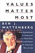 Values Matter Most How Republicans Or De