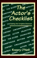 Actors Checklist Creating The Complete C