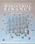 ISSUES & RDGS IN MGRL FINANCE,