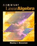 Elementary Linear Algebra 5th Edition