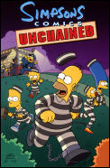 Simpsons Comics Unchained Cover