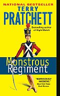 Monstrous Regiment (Discworld Novels) Cover