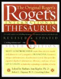 Rogets International Thesaurus 6th Edition