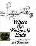 Where the Sidewalk Ends Book & CD (25th Edition) Cover
