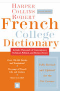 Harpercollins Robert French College Dictionary 4th Edition