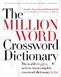 The Million Word Crossword Dictionary Cover