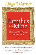 Families Like Mine: Children of Gay Parents Tell It Like It Is Cover