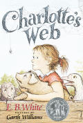 Charlottes Web With Spider Necklace