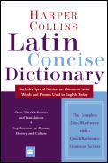 Harpercollins Latin Concise Dictionary