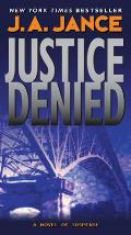 Justice Denied (J. P. Beaumont Mysteries) Cover