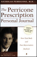 Perricone Prescription Personal Journal Your Total Body & Face Rejuvenation Daybook