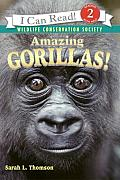 Amazing Gorillas! (I Can Read Books: Level 2)