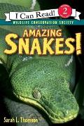Amazing Snakes! (I Can Read Books: Level 2)