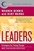 Leaders: Strategies for Taking Charge (Harperbusiness Essentials) Cover