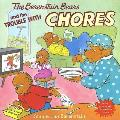 The Berenstain Bears and the Trouble with Chores with Punch-Out(s) (Berenstain Bears) Cover