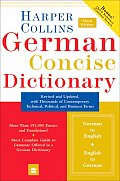 Harpercollins German Concise Dictionary 3RD Edition