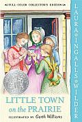 Little House #07: Little Town on the Prairie Cover