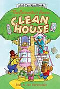 The Berenstain Bears Clean House with Sticker (Berenstain Bears)