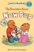 The Berenstain Bears' New Pup with Sticker (I Can Read Books: Level 1)
