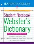 HarperCollins Student Notebook Websters Dictionary