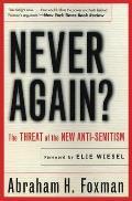 Never Again Threat Of The New Anti Semitism