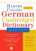 Harpercollins German Unabridged Dictionary 5TH Edition