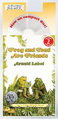 Frog and Toad Are Friends Book and CD with CD (Audio) (I Can Read Books: Level 2)