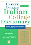 Harpercollins Italian College Dictionary 3rd