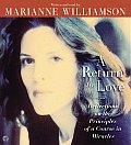 A Return to Love CD