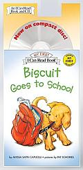 Biscuit Goes To School Book & Cd