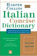 Harpercollins Italian Concise Dictionary 4TH Edition