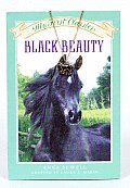 Black Beauty With Horse Shoe Charm Necklace