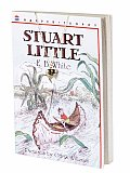 Stuart Little Book & Charm With Sailboat Gold Tone Charm