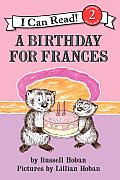A Birthday for Frances (I Can Read - Level 2) Cover