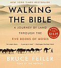 Walking the Bible CD Low Price: A Journey by Land Through the Five Books of Moses (Abridged) Cover
