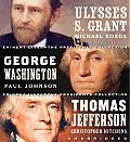 Eminent Lives: The Presidents Collection CD Set: George Washington, Thomas Jefferson and Ulysses S. Grant Cover