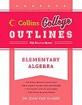 Elementary Algebra (Collins College Outlines)