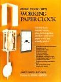 Make Your Own Working Paper Clock Cover