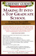 Greenes' Guides to Educational Planning: Making It Into a Top Graduate School: 10 Steps to Successful Graduate School Admission (Greenes' Guides to Educational Planning) Cover