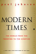 Modern Times: The World from the Twenties to the Nineties Cover