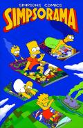 Simpsons Comics Simpsorama Cover