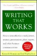 Writing That Works (3RD 00 Edition)